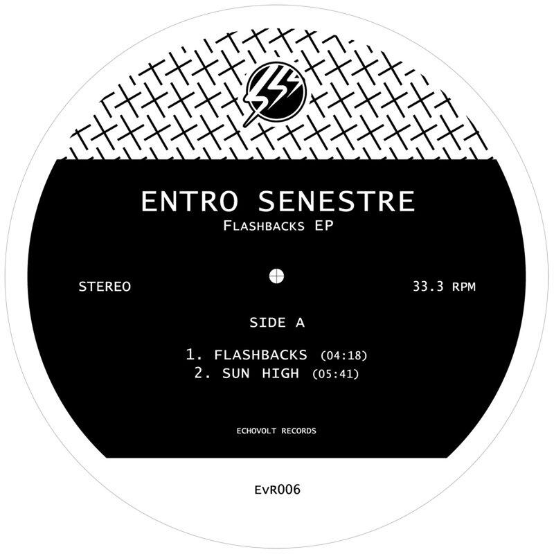 Cover art - Entro Senestre: Flashbacks EP
