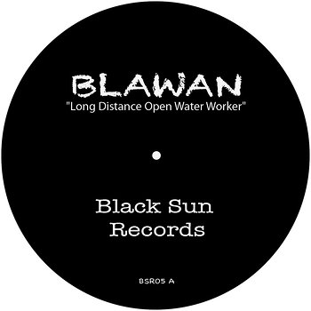 Cover art - Blawan: Long Distance Open Water Worker