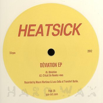 Cover art - Heatsick: Déviation EP