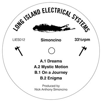Cover art - Simoncino: Dreams EP