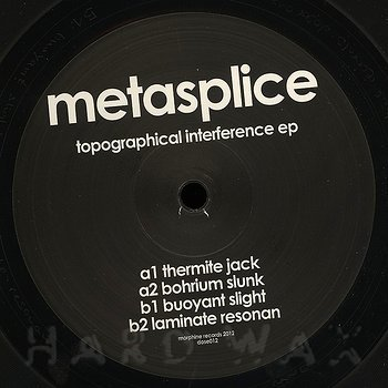 Cover art - Metasplice: Topographical Interference EP