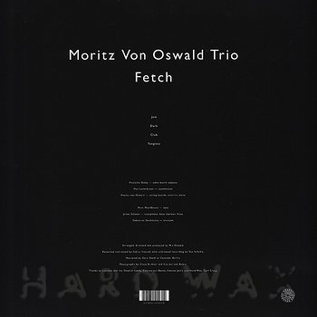 Cover art - Moritz von Oswald Trio: Fetch