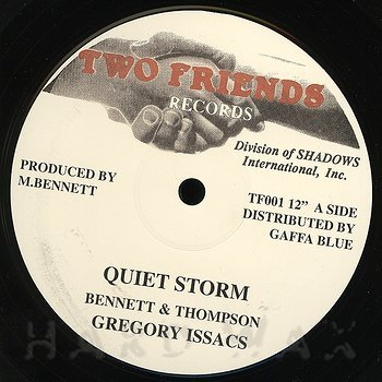 Cover art - Gregory Isaacs: Quiet Storm