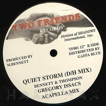 Cover art - Gregory Isaacs: Quiet Storm