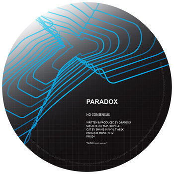 Cover art - Paradox: No Consensus