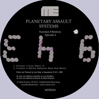Cover art - Planetary Assault Systems: Function 4 Remixes Episode 2