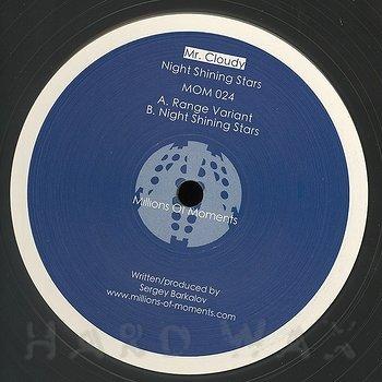 Cover art - Mr. Cloudy: Night Shining Stars