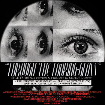Cover art - Staffan Linzatti: Through The Looking-Glass