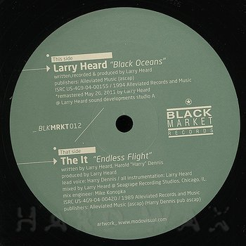 Cover art - Larry Heard: Black Oceans