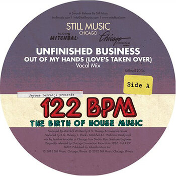 Cover art - Unfinished Business vs Omni: Out Of My Hands (Love's Taken Over)