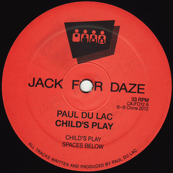 Cover art - Paul Du Lac: Child's Play