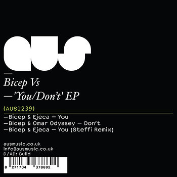 Cover art - Bicep Vs: You/Don't EP
