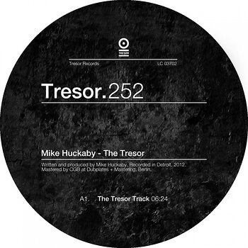 Cover art - Mike Huckaby: The Tresor EP