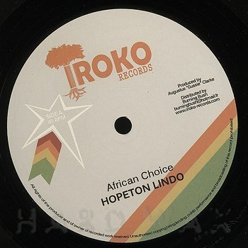 Cover art - Hopeton Lindo: African Choice