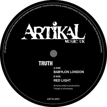 Cover art - Truth: Babylon London