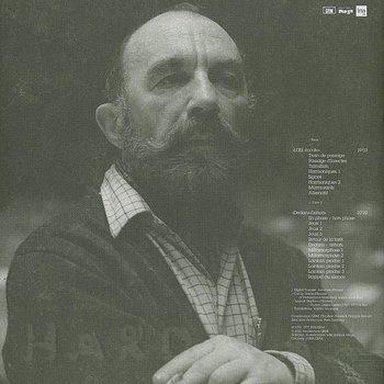 Cover art - Bernard Parmegiani: L'Œil écoute / Dedans-Dehors