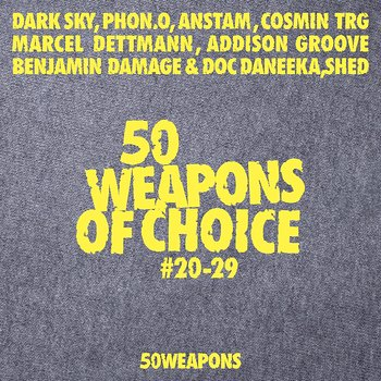 Cover art - Various Artists: 50 Weapons of Choice #20-29