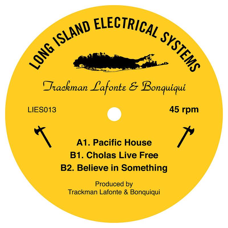 Cover art - Trackman Lafonte & Bonquiqui: Pacific House EP