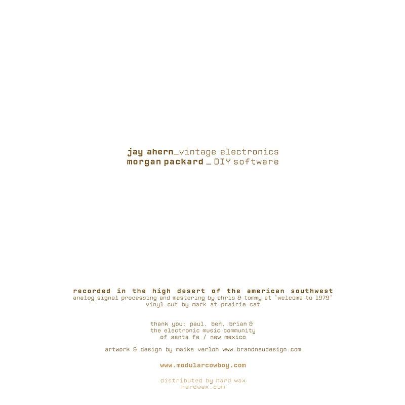 Cover art - Jay Ahern & Morgan Packard: Mesa Sequences