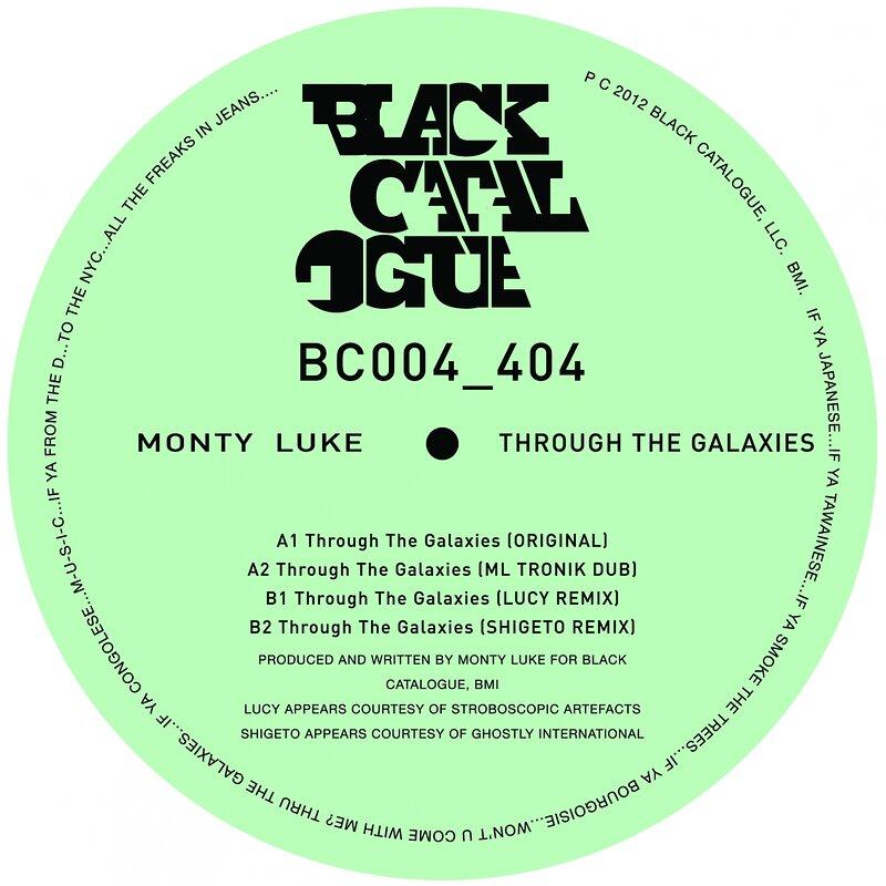 Cover art - Monty Luke: Through The Galaxies