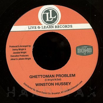Cover art - Winston Hussey: Ghettoman Problem