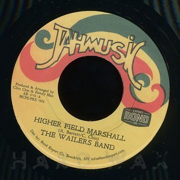 Cover art - The Wailers Band: Higher Field Marshall