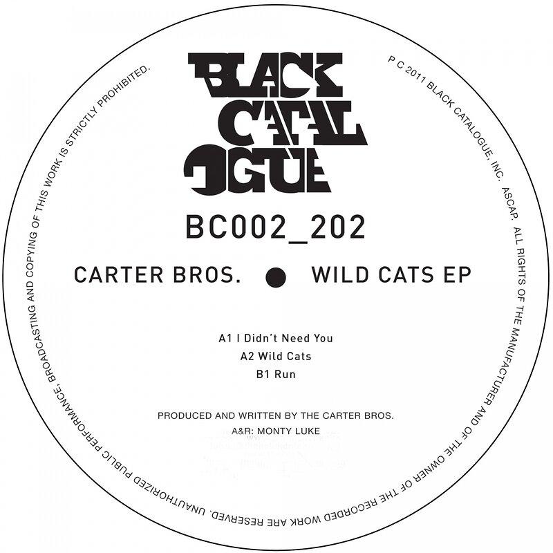 Cover art - Carter Bros.: Wild Cats EP