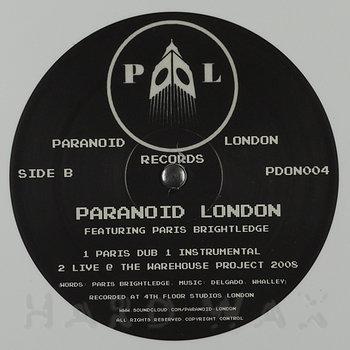 Cover art - Paranoid London feat. Paris Brightledge: Paris Dub 1