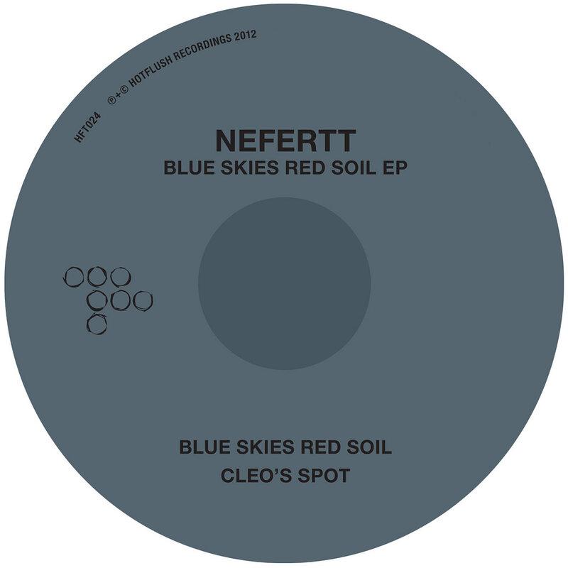 Cover art - NeferTT: Blue Skies Red Soil EP