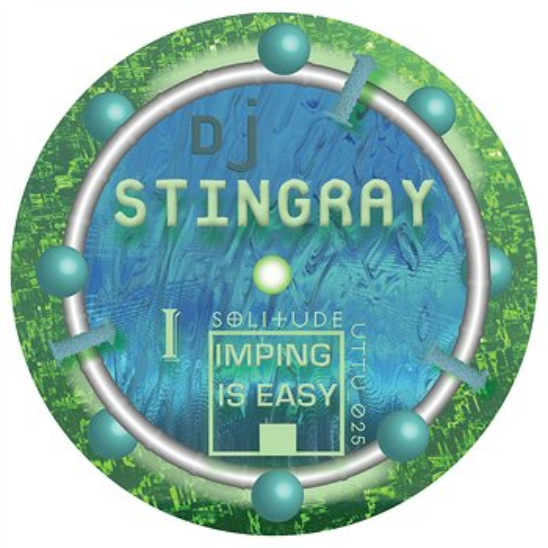 Cover art - DJ Stingray: Imping Is Easy EP