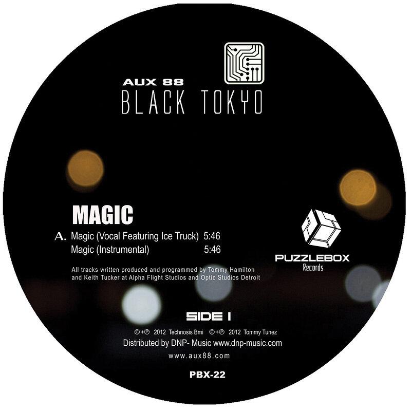 Cover art - Aux 88: Present Black Tokyo – Magic EP