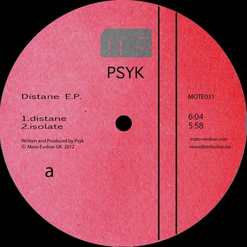 Cover art - Psyk: Distane EP