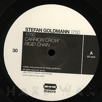 Cover art - Stefan Goldmann: 17:50