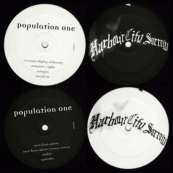 Cover art - Population One: I Program My Computer Right & View From Above