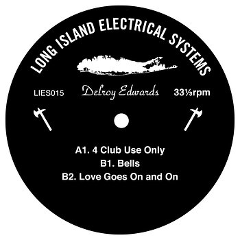 Cover art - Delroy Edwards: 4 Club Use Only EP