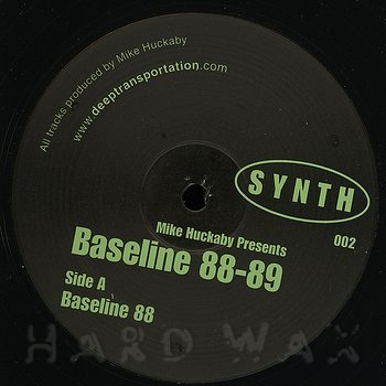 Cover art - Mike Huckaby: Baseline 88-89