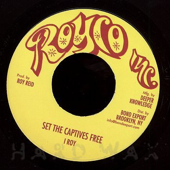 Cover art - I Roy: Set the Captives Free