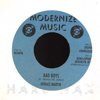 Cover art - Horace Martin: Bad Boys