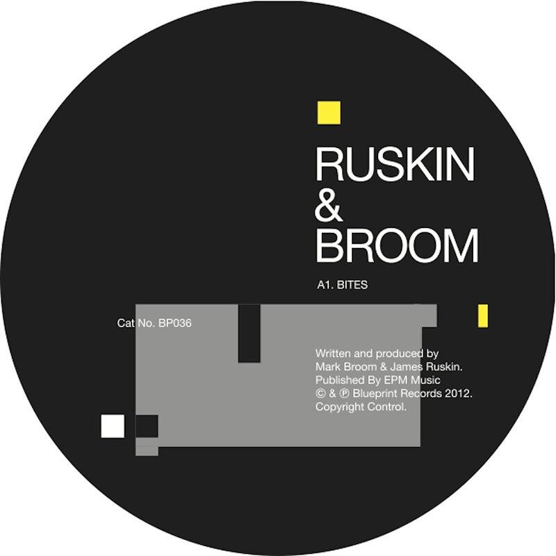 Cover art - Mark Broom & James Ruskin: Bites