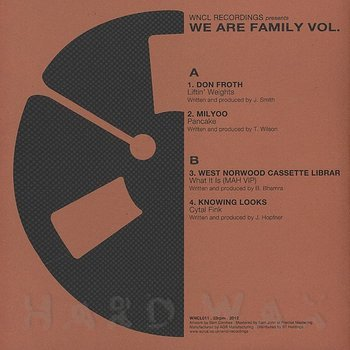 Cover art - Various Artists: We Are Family Vol. 1