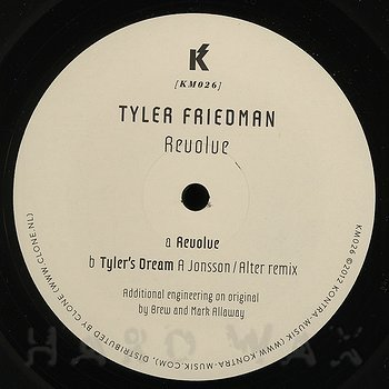 Cover art - Tyler Friedman: Revolve