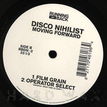 Cover art - Disco Nihilist: Moving Forward