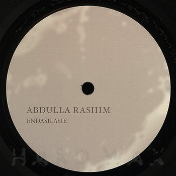 Cover art - Abdulla Rashim: Endasilasie