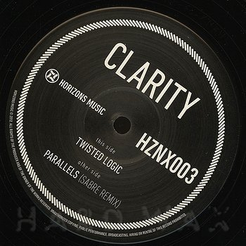 Cover art - Clarity: Twisted Logic