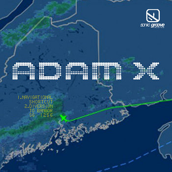 Cover art - Adam X: Navigational Shortcut
