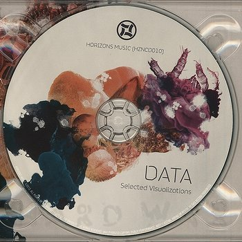 Cover art - Data: Selected Visualizations CD