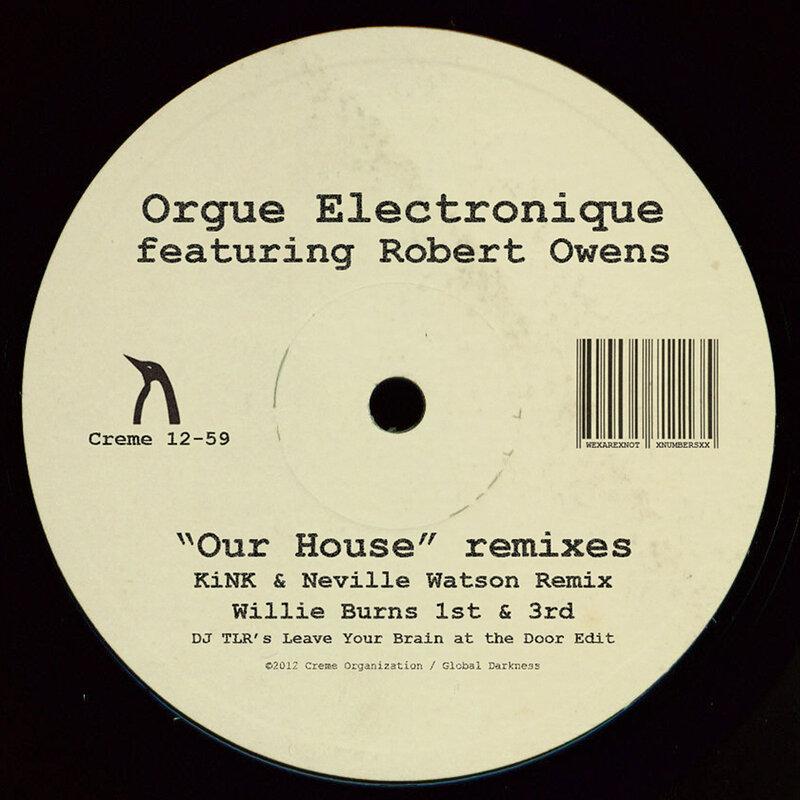 Cover art - Orgue Electronique: Our House Remixes