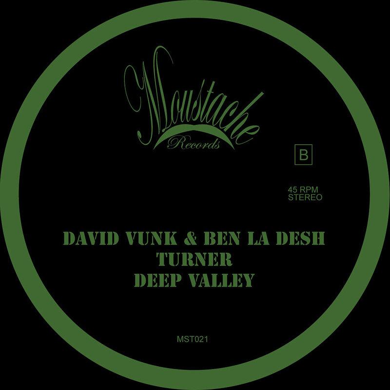 Cover art - David Vunk & Ben La Desh: Turner
