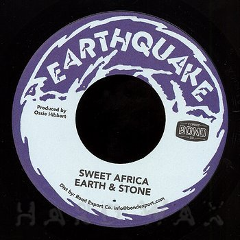 Cover art - Earth & Stone: Sweet Africa