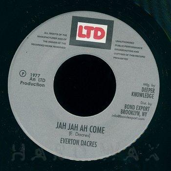 Cover art - Everton Dacres: Jah Jah Ah Come